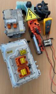 Hochvolt-Unterrichtsmaterialien für die WNTT HVplus-Ausbildung
