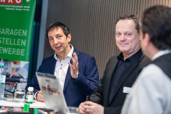 Emanuel Wulgarellis und Andreas Nunberg, WN-Technical Training